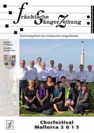 FSZ 6/2013 - Fränkischer Sängerbund