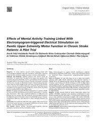 Effects of Mental Activity Training Linked With Electromyogram ...