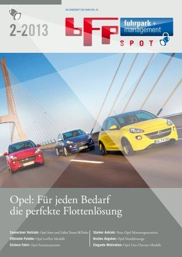 Opel: Für jeden Bedarf die perfekte Flottenlösung - fuhrpark.de