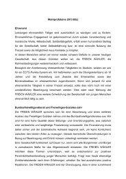 Bayerische Sportjugend - Freie Wähler Bayern