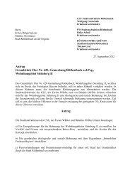 Antrag Grundstück Flur Nr. 620, Gemarkung Röthenbach adPeg ...