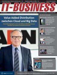 Value Added Distribution zwischen Cloud und Big Data - ADN