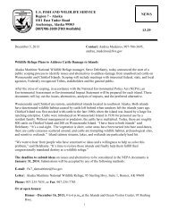 Press Release - U.S. Fish and Wildlife Service