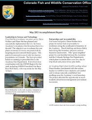May 2013 Newsletter - U.S. Fish and Wildlife Service
