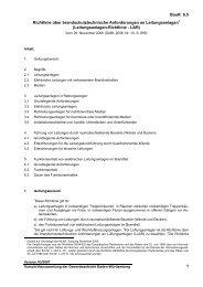 BauR 6.5 1 Richtlinie über brandschutztechnische Anforderungen ...