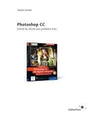 Photoshop CC für digitale Fotografie (PDF) - Galileo Design