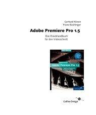 Adobe Premiere Pro 1.5 - Galileo Design