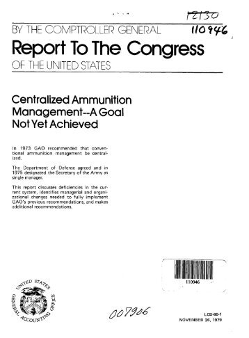 View Report (PDF, 55 pages) - US Government Accountability Office