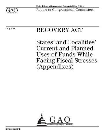 View Report (PDF, 736 pages) - US Government Accountability Office