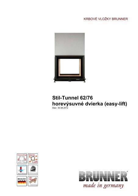 Stil Tunnel 6276 Horevýsuvné Dvierka Easy Lift Made In Brunner