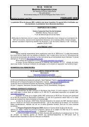 N I A    V O Ĉ O Madrida Esperanto-Liceo FEBRUARO 2008