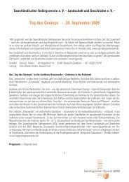 Geotopbeschreibungen 2007 - Geologischer Dienst NRW