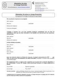 Attestation de prise en charge financière ... - Etat de Genève