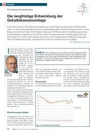 Entwicklung GK Umlage.pdf - Pharmazeutische Gehaltskasse