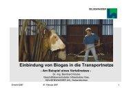 Vortrag von Dr. Bernhard Klocke auf der E ... - Gelsenwasser AG