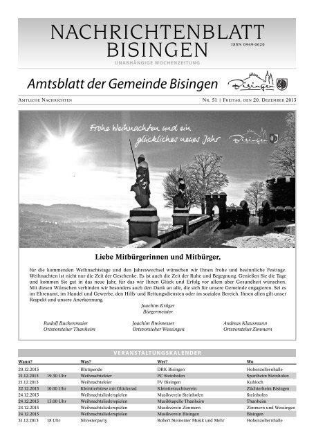 51 Umbruch_Leerumbr.qxd - Gemeinde Bisingen