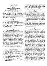 Satzung über örtliche Bauvorschriften - Gemeinde Murr