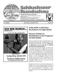 Rundschau Nr. 36.pdf - Gemeinde Schluchsee