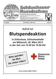 Rundschau Nr. 11.pdf - Gemeinde Schluchsee