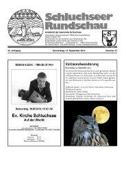 Rundschau Nr. 37.pdf - Gemeinde Schluchsee