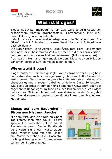 Spiel 20 Biogasanlage
