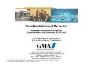 Einzelhandelskonzept - Gemeinde Merzenich