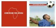Wir bleiben am ball! - Gemeinsam für Afrika