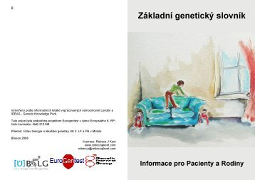 Základní genetický slovník - Genetic Alliance UK