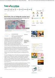 Eine Karte, die zur Goldgrube werden kann Tiroler Tageszeitung ...