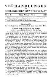 1935 - Geologische Bundesanstalt