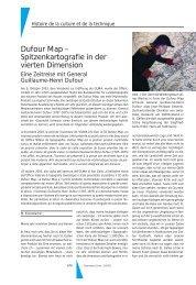 Dufour Map – Spitzenkartografie in der vierten Dimension