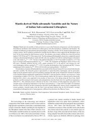 Mantle-derived Mafic-ultramafic Xenoliths and the Nature of Indian ...