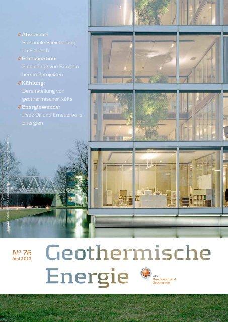 Nº 76 - Bundesverband Geothermie