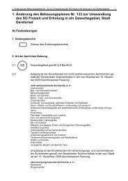 1. Änderung des Bebauungsplanes Nr. 133 zur ... - Stadt Geretsried