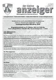 Ausgabe Nr. 09/13 (PDF  8,0 MB) - Gemeinde Gerbrunn
