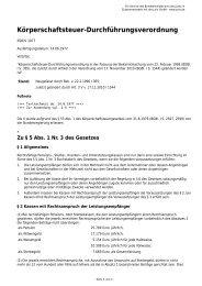 Körperschaftsteuer-Durchführungsverordnung - Gesetze im Internet