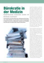 Bürokratie in der Medizin - gesund-in-ooe.at