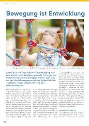 Kinder: Bewegung ist Entwicklung - gesund-in-ooe.at