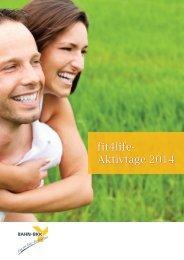 Download BAHNBKK Fit4life 2014 - gesundheit und reisen