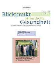 Afrika-Projekt - Gesundheitsamt Bremen
