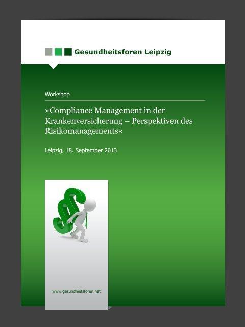 Compliance Management in der Krankenversicherung ...