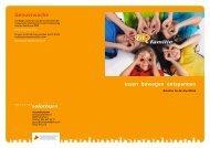 Broschüre fit & familie