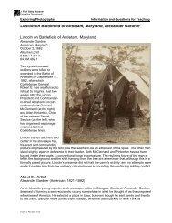 Lincoln on Battlefield of Antietam, Maryland, Alexander ... - The Getty