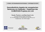 Fischer: Gesundheitliche Aspekte der energetischen Sanierung von ...