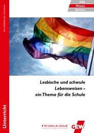 lesbische und schwule Lebensweisen als Thema - Gewerkschaft ...
