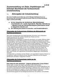 Zusammenstellung von Zielen, Empfehlungen und ... - GEW Bremen