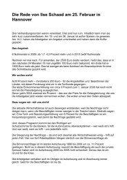 09 02 27 Ilse Schaad_Rede überarbeitet - GEW Niedersachsen