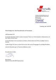Lüneburg, den 16.07.09 Werte Kolleg/innen, liebe Mitstudierende ...