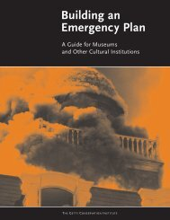 Building an Emergency Plan - The Getty