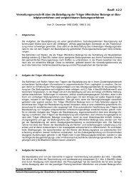 Verwaltungsvorschrift über die Beteiligung der Träger öffentlicher ...